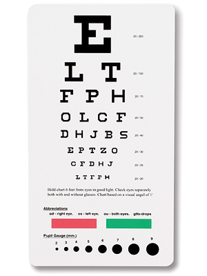 Vision Charts & Pocket Cards