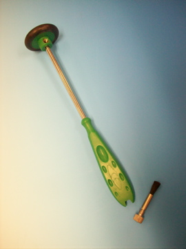 Babinski with Green Handle