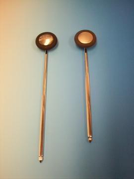 Babinski with crome handle