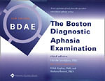 Boston Diagnostic Aphasia Examination (BDAE-3)  Third Edition