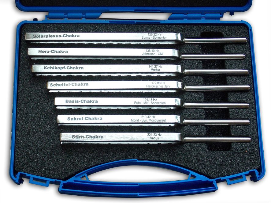 Premium Therapeutic Tuning Fork Set