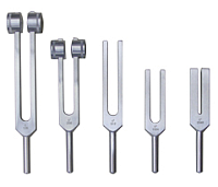 Premium alloy tuning forks